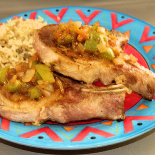 Dieters' Mexican Pork Chops