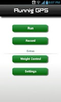 Screenshot of Runnig GPS Free