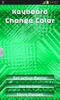 Screenshot of Keyboard Change Color