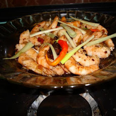 Thai Stir - Fried Prawns With Tamarind