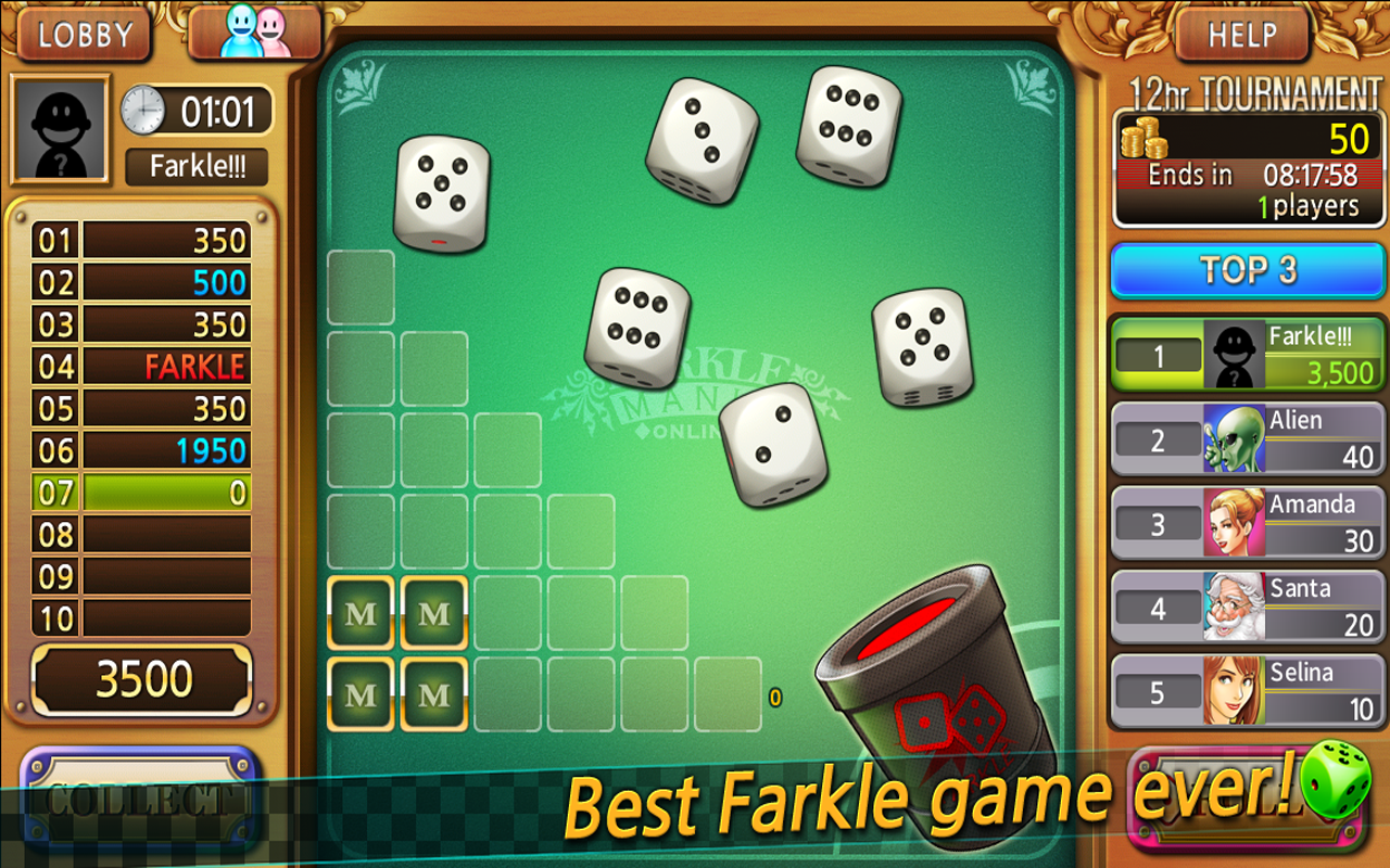 How to Play Farkle Online