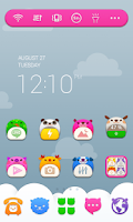 Screenshot of Baby ZOO Dodol Theme