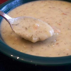 Slow Cooker Potato-Leek Soup