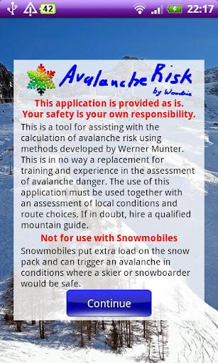 Avalanche Risk
