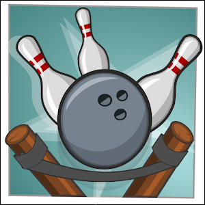 Slingpin - bowling with a slingshot