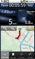 Screenshot of i.Run - GPS Running Coach