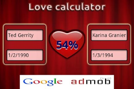 Love Calculator (Calculate Your Probability To Marry) Just For F