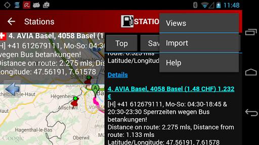 Cng/Lpg Finder Plus EUR & US - screenshot