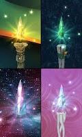 Screenshot of Magic Crystal Live Wallpaper