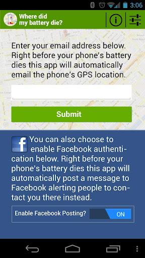 【免費工具App】Where Did My Battery Die?-APP點子