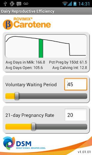 Rovimix Dairy Calculator