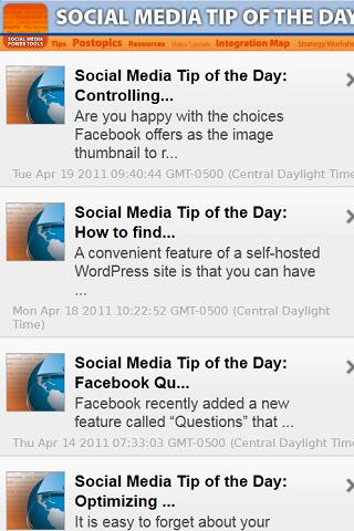 Social Media Tip of the Day