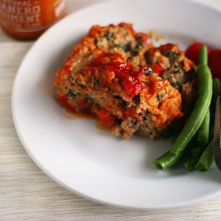 Spicy Turkey Meatloaf with Yellowbird Sauce