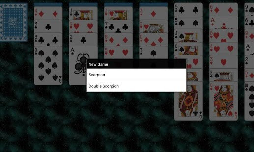 Scorpion Solitaire - screenshot