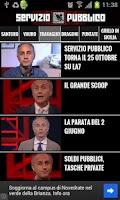 Screenshot of Servizio Pubblico