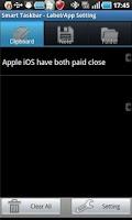 Screenshot of Everywhere Clipboard  Pro