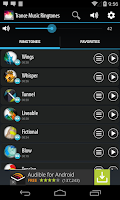 Screenshot of Trance Music Ringtones