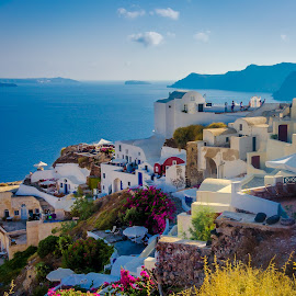 Santorini by Murat Besbudak - Landscapes Travel ( cruising, aegean sea, greece, santorini )