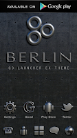 Screenshot of Poweramp Widget BERLIN