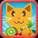 QCat - малыша игры: фрукты icon