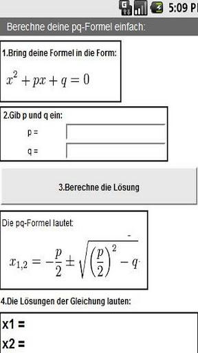 PQ-Formel