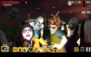 Screenshot of Zombie Blaster!