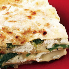 Super-Fast Spinach, Pesto and Cheese Lasagna