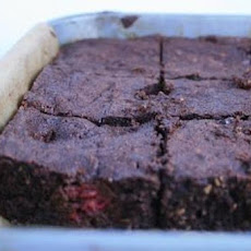 Raspberry Hazelnut Brownies