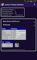 Screenshot of Golf Quickscore+