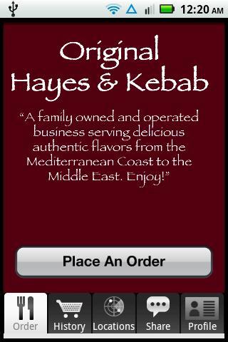 Hayes Kebab