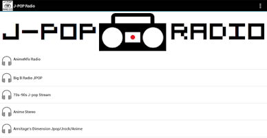 Screenshot of J-POP Radio