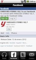 Screenshot of Yariguies Stereo