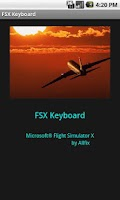 Screenshot of FSX Keyboard