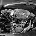 History of Harley Davidson icon