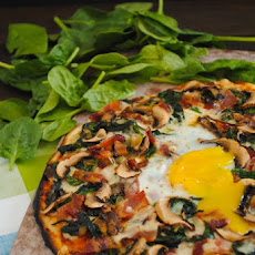 Farm to Table Egg Pizza