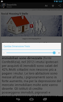Screenshot of Beppe Grillo Blog Italian news
