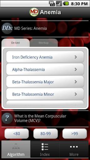 【免費醫療App】MD Series: Anemia-APP點子