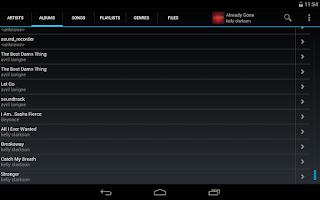 Screenshot of Ultra Music Player