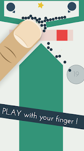 Bounsy - Finger Physics Puzzle Screenshot