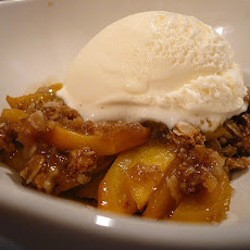 Award-Winning 9-Finger Peach Cobbler