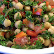 Middle Eastern Bean Tabbouleh
