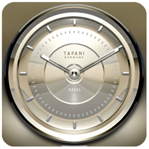 RAVEL Designer Clock Widget