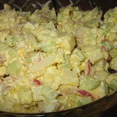 Picnic Potato and Chicken Salad Cups