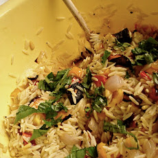 Greek Roasted Vegetable Risoni (Orzo)