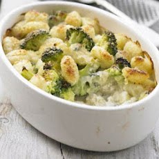 Broccoli & Blue Cheese Gnocchi
