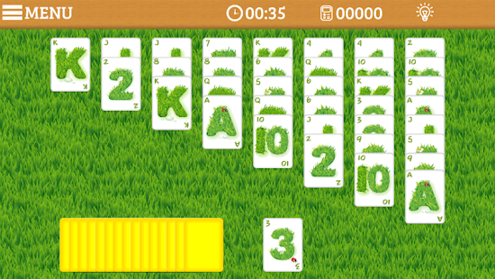 Golf Solitaire Multi Pro Edtn - screenshot