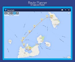 Screenshot of MarineTraffic ship positions
