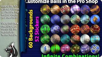 Screenshot of Gutterball Bowling