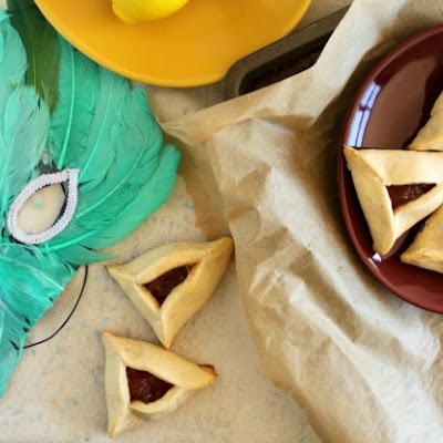 Camembert Hamantaschen with Apple Cinnamon Filling