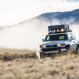 Made to explore by Preston Trauscht - Transportation Automobiles ( fourwheeling, offroad, outdoors, fj cruiser, fun, toyota )